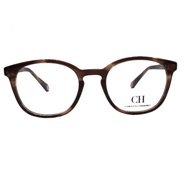 2071543f4c CAROLINA HERRERA VHE707 06HN TORTOISE | Opticas Franklin