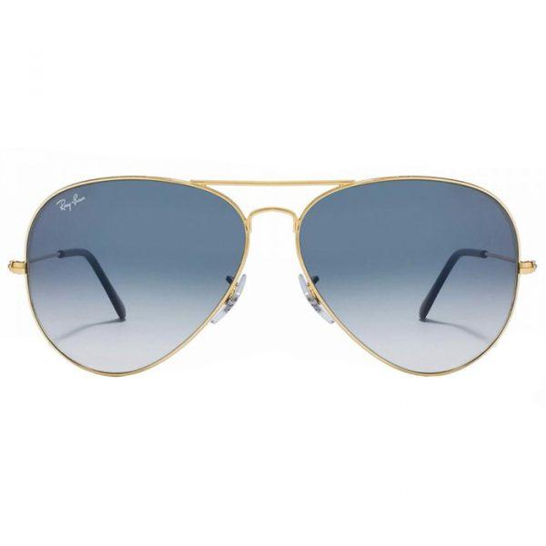 AVIATOR RB3025 001 3F 5814 GOLD BLUE1