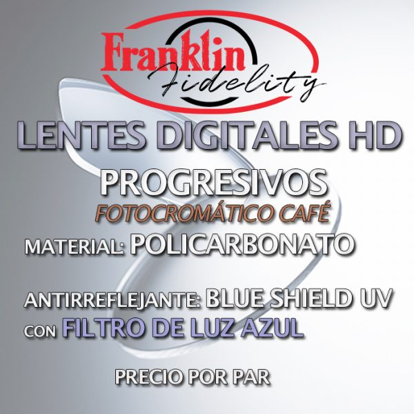 Lentes FF HD PHOTO CAFE POLY PRG BLUE S 700 x 700